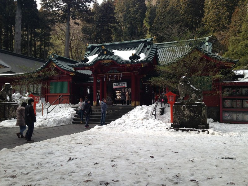 Haiden_of_Hakone_Shrine
