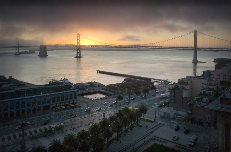 San Francisco's waterfront and Embarcadero