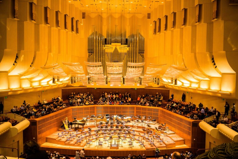 Davies Symphony Hall in SF