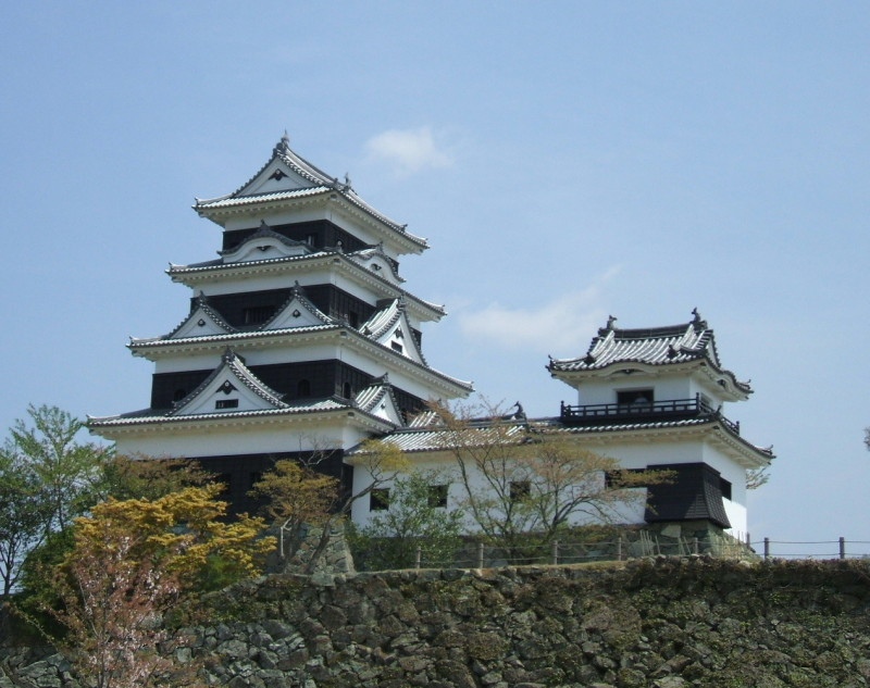 Ozu_castle_from_west