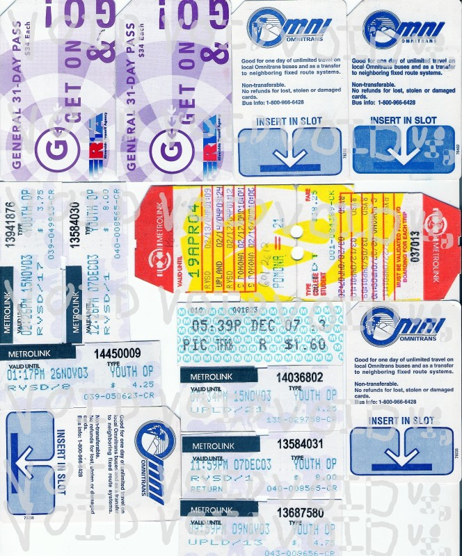 Transit Tickets