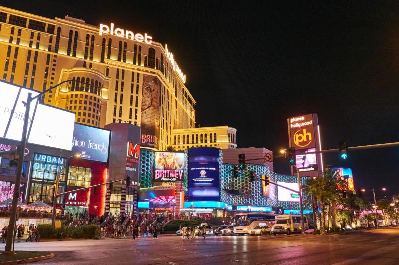 Las Vegas Stip Night View