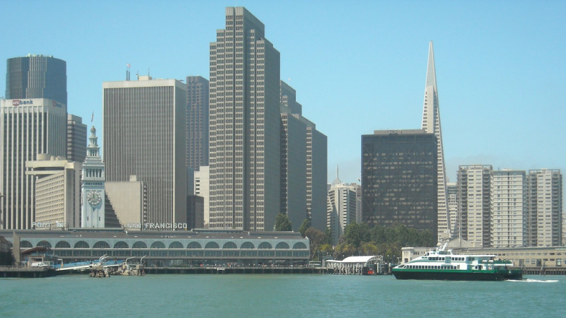 The Location of Ferry Building 1