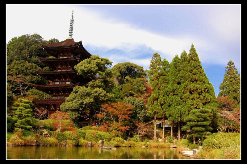 Rurikoji temple Pagoda yamaguchi