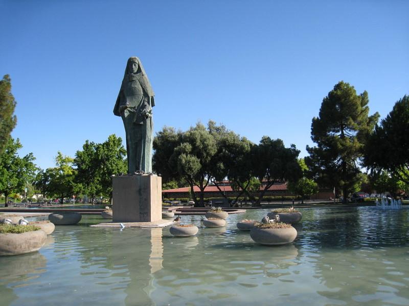 Saint Claire Statue