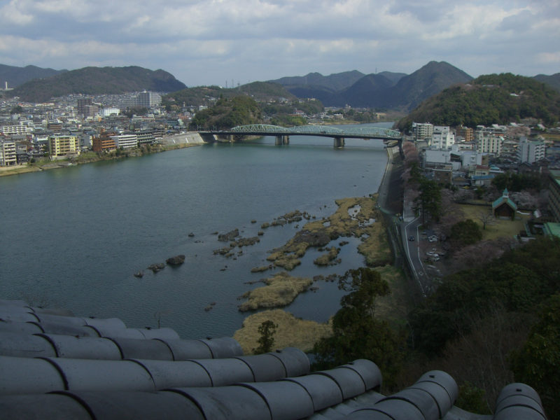 River from Inuyama castle