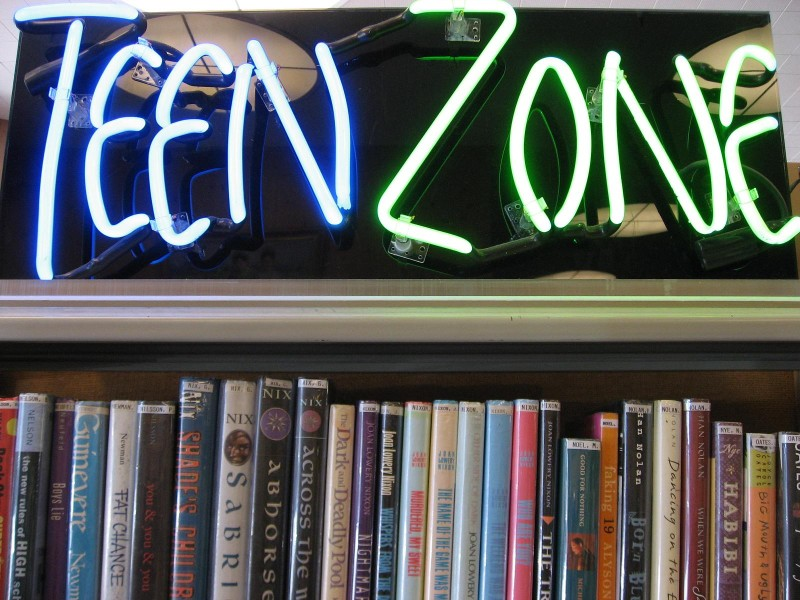 Library Teen zone Image