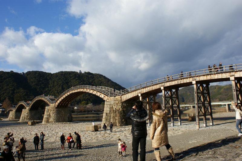Kintaikyo bridge yamaguchi