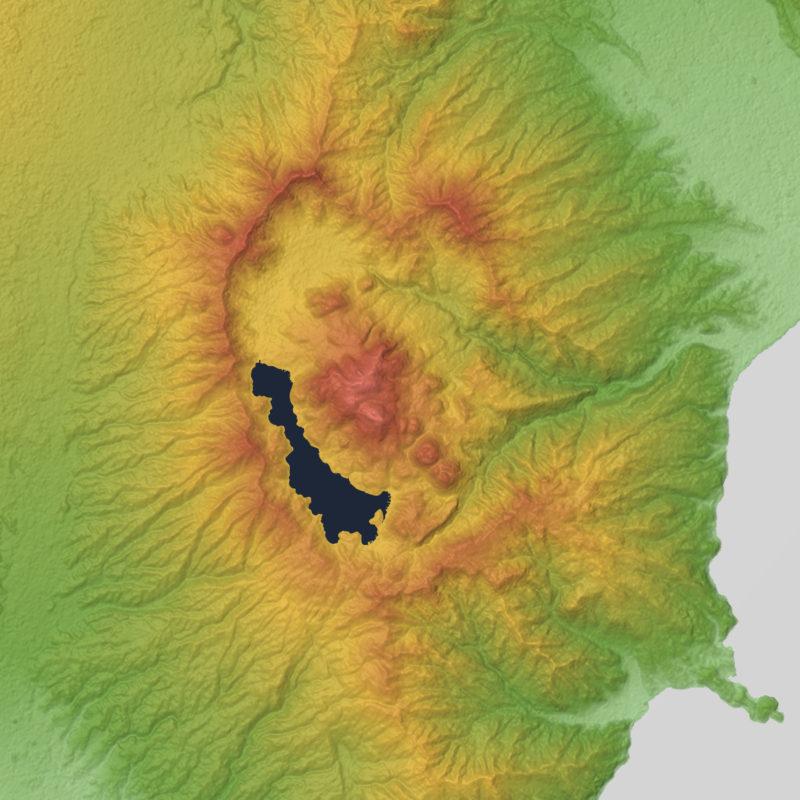 Hakone Volcano Caldera