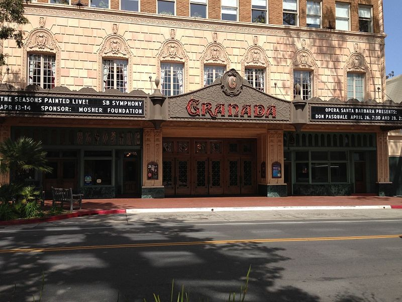 Granada Theatre Santa Barbara Downtown