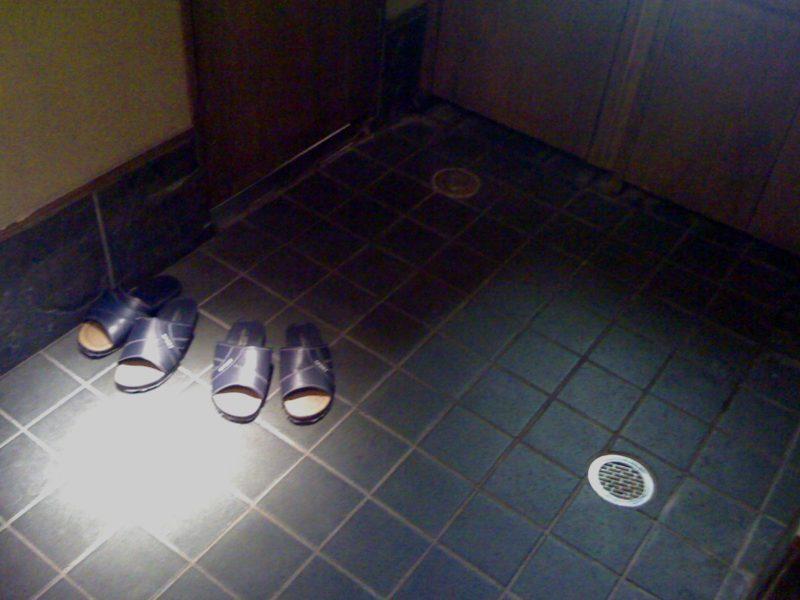 toilet slippers